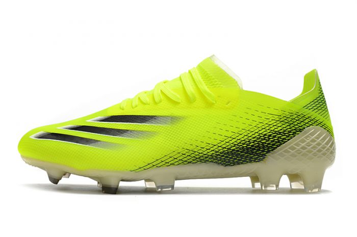 Adidas X Ghosted .1 FG Firm Ground Soccer - Yellow Black
