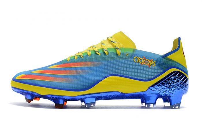 adidas X Ghosted .1 FG - Blue/Vivid Red/Bright Yellow