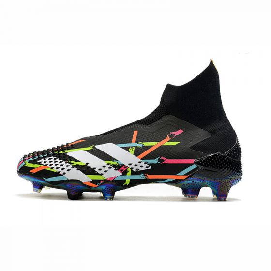 Kids adidas X Reuben Predator Mutator 20+ FG Art Black Multicolor