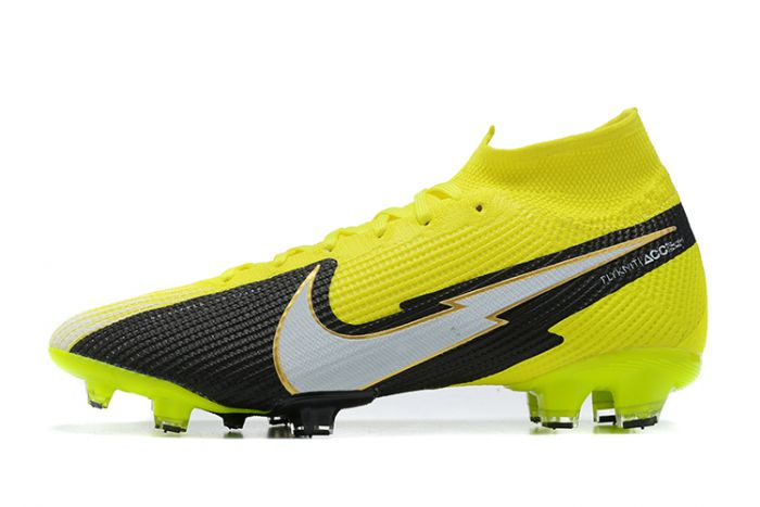 Nike Mercurial Superfly VII Elite SE FG Volt Back White